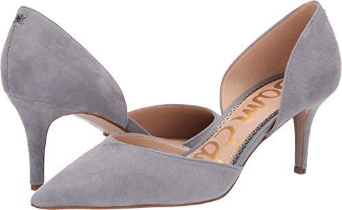 - Sam Edelman Women's Jaina Storm Grey Kid Suede Leather 8.5 W US