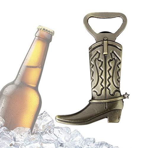 (Hotaluyt Alloy Cowboy Boots Beer Bottle Opener Shoes Open Bottle Opener European Wedding Favor)
