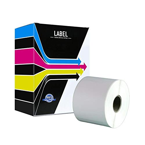 SuppliesOutlet Compatible Shipping Labels Replacement for Dymo 30256 (300 Large Shipping Labels,1 - Page Yield 300k