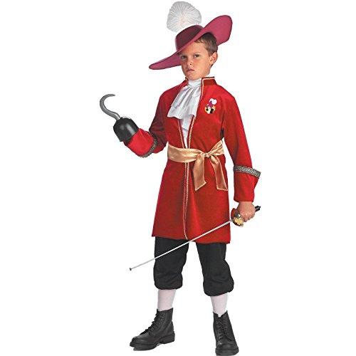 Pirate Captain Costumes Kids (Captain Hook - Size: Child S(4-6))