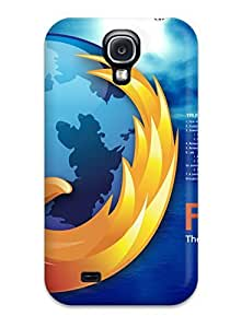 BenjaminHrez Fashion Protective Firefox Logo Case Cover For Galaxy S4