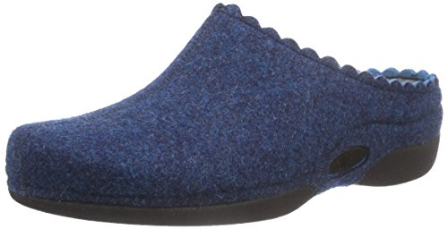 Berkemann Laurina Women's Home Slippers Blue (Blau 323)