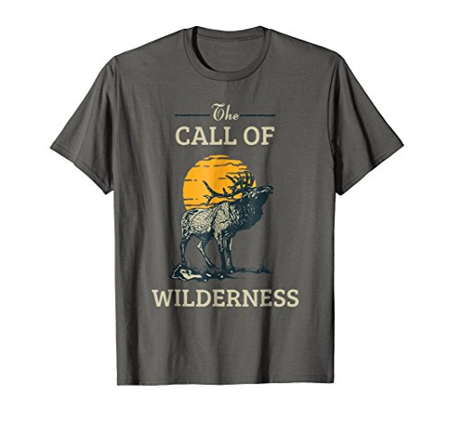 Call of The Wilderness Elk Vintage T-shirt