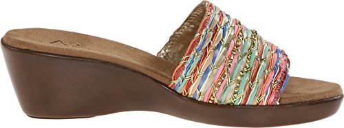 A2 by Aerosoles Women's Say Yes Wedge Sandal,Multi Fabric,9.5 M US