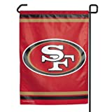 NFL San Francisco 49ers WCR08384013 Garden Flag, 11″ x 15″