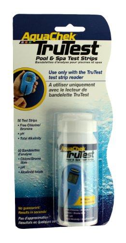 Aquachek 512138 trutest digital reader swimming pool spa test import it all for Swimming pool test kits amazon