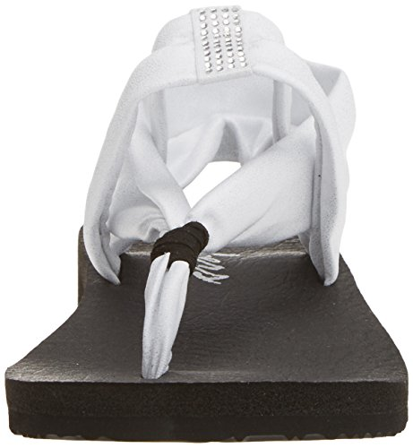 Mujer Skechers Meditation Blanco para Flip Flop Sandalias Wsl Disco q16wxZaYC