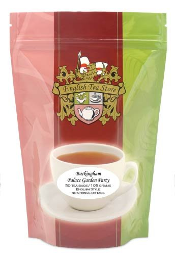 Buckingham Palace Garden Party Tea Bags - 50 Teabag -
