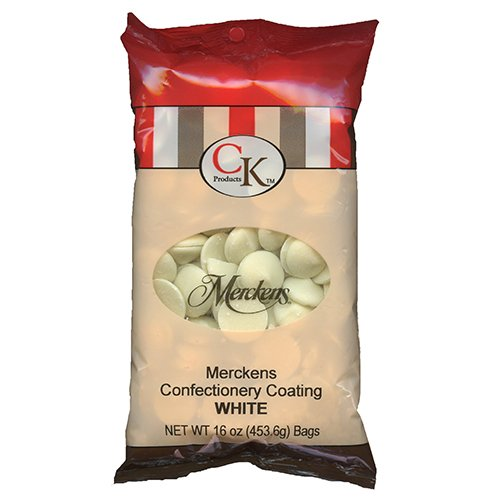 Merkens White 1 lb Bag (Best Chocolate To Use For Chocolate Covered Strawberries)