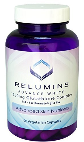 Relumin Advance White 1650 mg Glutathione Complex by Relumins Labs