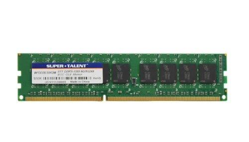 Super Talent DDR3-1333 8 GB ECC Micron Chip Server Memory W1333EB8GM