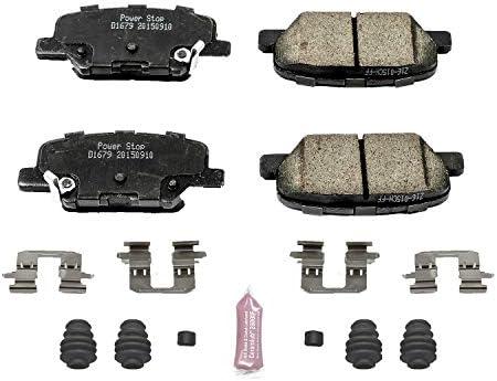 Power Stop Z23-1679 Z23 Evolution Sport Carbon Fiber Infused Ceramic Brake Pad with Hardware