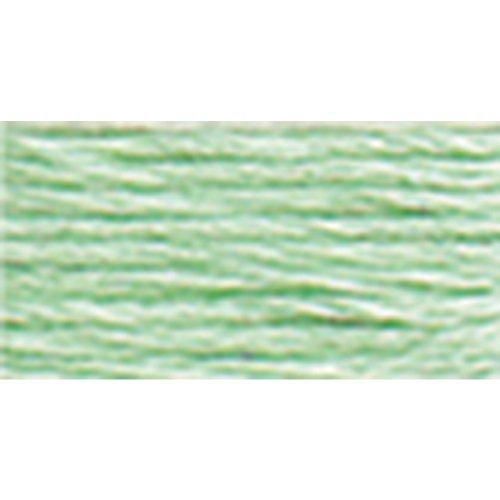 DMC 116 8-955 Pearl Cotton Thread Balls, Light Nile Green, Size 8