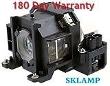 Sklamp ELP-LP38 / V13H010L38 Replacement Lmap Bulb with Housing for Epson EMP-1705, EMP-1715, EMP-1700, EMP-1707, EMP-1710, EMP-1717, PowerLite 1700 Projectors