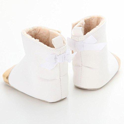 ... Winterstiefel Clode® Kleinkind Baby Mädchen Warm Halten Bogen Leder  Schneestiefel Weiche Sohlen Krippe Schuhe Stiefel Winterstiefel 6010b7ff48