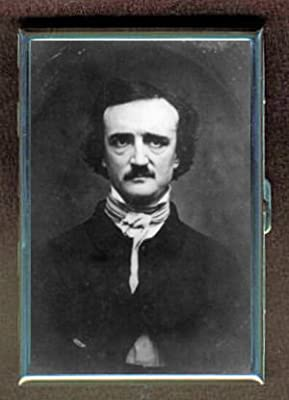 EDGAR Allan Poe Photograph Double-Sided Cigarette Case, ID Holder, Wallet with RFID Theft Protection