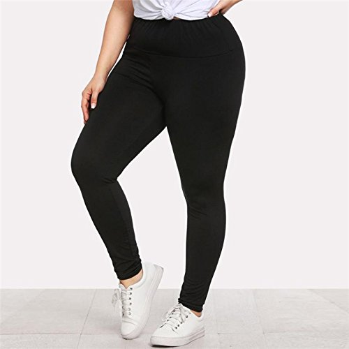 De Pantalones Black Negras Leggins Leggings Tallas Grandes Yoga Ropa Xuanytp Mujeres Casuales Fitness Agujero w5qnxOx