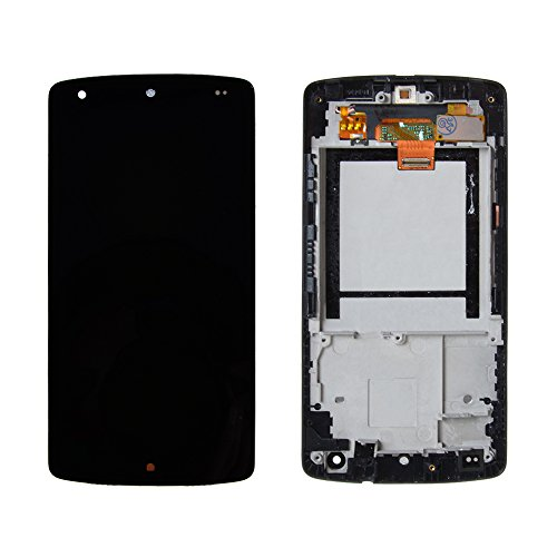Ayake LCD for Google Nexus 5 (D820/D821) Black Display Assembly Digitizer Touchscreen Replacement with Repair Tool Kits