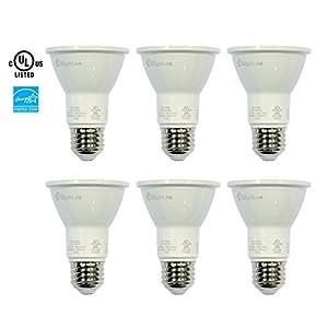 Xlight.ca PAR20 Led Light Bulbs, 50W Equivalent, Dimmable Led Bulb, Energy Star, UL-Listed, Pack of 6 (Daylight 5000K)