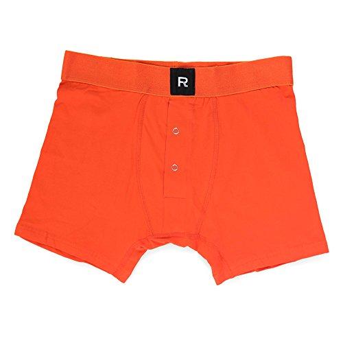 Richer Poorer Men's Smith Boxer Brief Orange L none from Richer Poorer