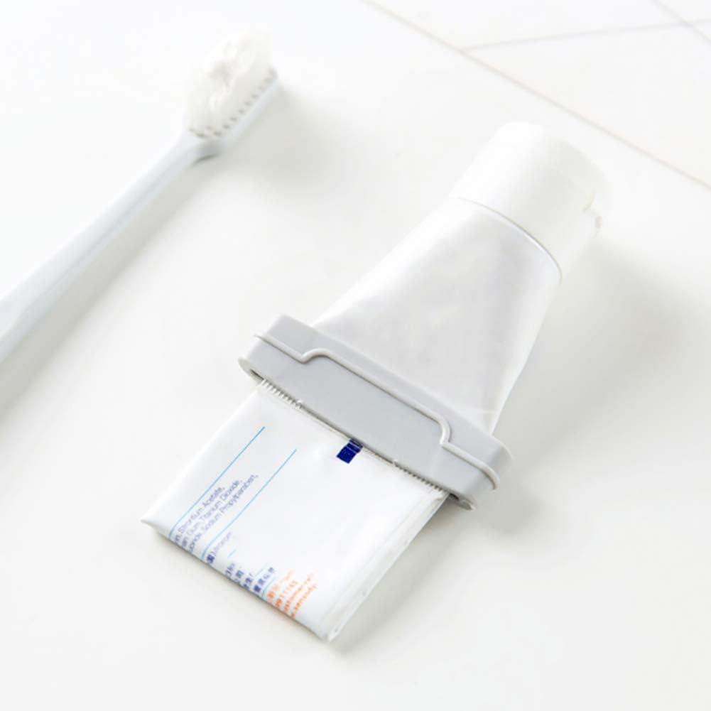 YUnnuopromi 3/pcs de Salle de Bain /à l/èvres Dentifrice Plastique Manuel Nettoyant Visage Laver Presse Tube Distributeur Beige
