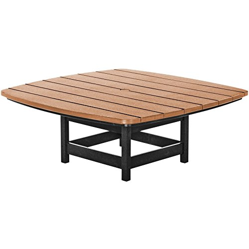Cedar Set Coffee Table - Pawleys Island Two Toned Outdoor Coffee Table