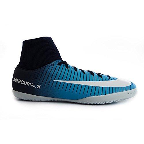 Nike MercurialX Victory VI Indoor Adult 43Football Boot Football Boots (Indoor, Adult, Male, Blue, White, Printed, Rubber)