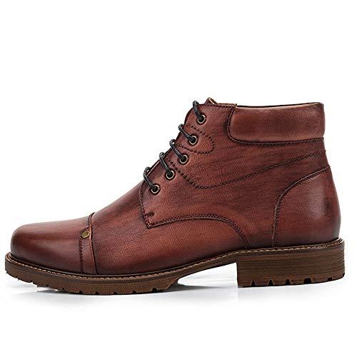 Stivaletti Lavoro Da In Pelle Boot Cowboy Con Uomo Martin Lace dqFwdS
