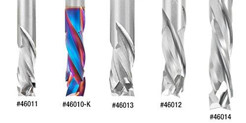 Amana Tool 46011 CNC Solid Carbide Compression Spiral 3 Flute x 3//8 Dia x 7//8 x 3//8 Shan
