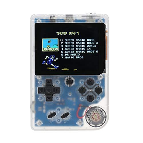 Goolsky 携帯ゲーム機 レトロミニ2 ハンドヘルド ゲームコンソール エミュレータ 168ゲーム内蔵 ビデオゲーム 子供 FC ハンドヘルドゲーム プレイヤー 贈り物