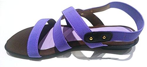 Linea Scarpa KYRA - Sandalias de vestir para mujer, color Violeta, talla 38