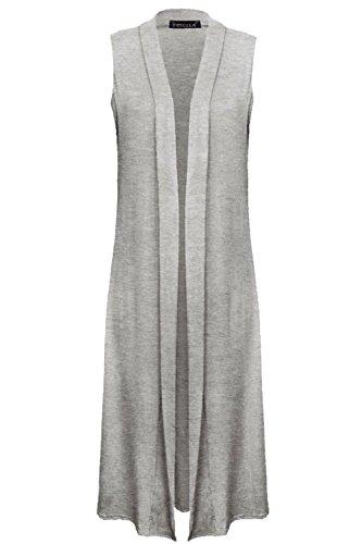 GK CLOTHINGS - Gilet - Femme Gris
