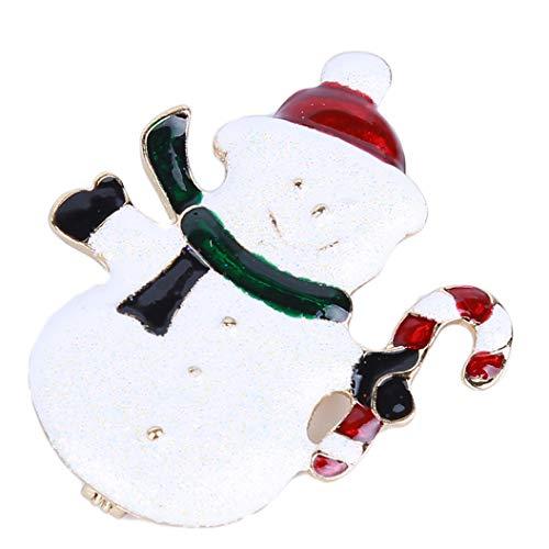 LZIYAN Fashion Snowman Pin Christmas Xmas Brooch Pin Decor Gifts Jewelry Gift