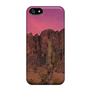 Hot MwEoQJq2903gNRPm Stunning Pink Desert Sunset Tpu Case Cover Compatible With Iphone 5/5s