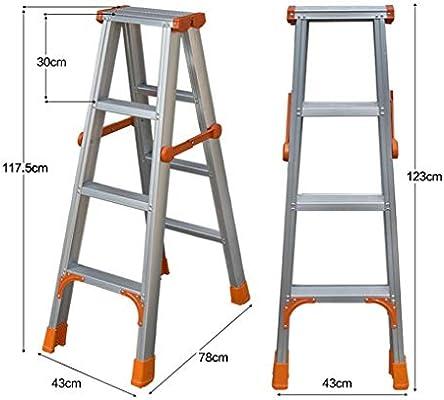 HYYDP Taburete de Paso, Escalera Escalera Plegable de Aluminio Taburete Taburete de Paso (Size : C): Amazon.es: Hogar