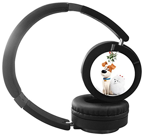 Magic Q New Bluetooth Headphones Over Ear,Hi-Fi Stereo Wireless Headset, Foldable,Soft Memory-Protein Earmuffs,Built-in Mic and Wired Mode for PC, Cell Phone and TV(Secret pets)