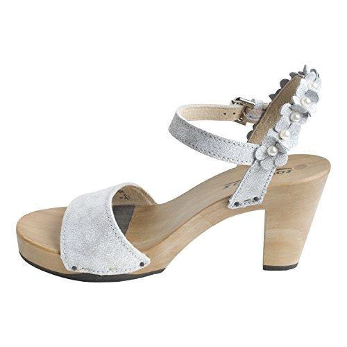 Softclox Blanco Mujeres Libre Vacaciones Sandalette Matriz Color ...