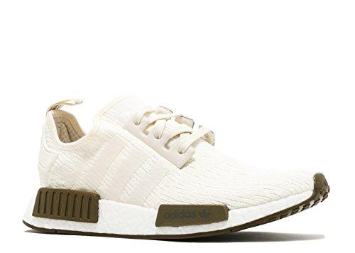 Adidas Originali Mens Nmd_r1 Sneaker Gesso Bianco / Gesso Bianco / Oliva Traccia