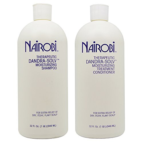 Nairobi Dandra-Solv Moisturizing Shampoo & Conditioner 32oz Duo