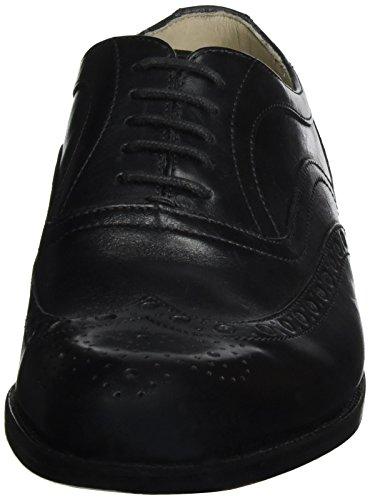 Clarks Twinley Limit, Zapatos de Vestir para Hombre Negro (Black Leather)