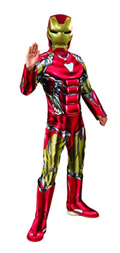 Avengers 4 Deluxe Iron Man Costume & Mask