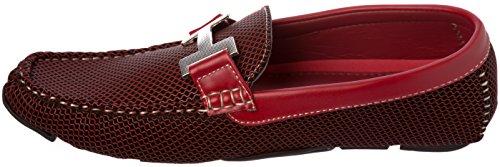 Brix Menns Slip-on Fashion-loafer Sko Røde