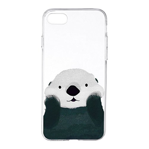 Color Painted Deer Pattern Soft Ultra Thin Slim Lightweight Mobile Phone Protective Cover Shell Case for IPHONE7 (7 (Pattern Protective Case)
