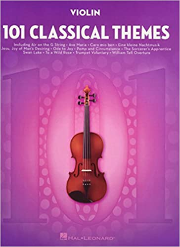 Amazon com: 101 Classical Themes for Violin (9781495056314