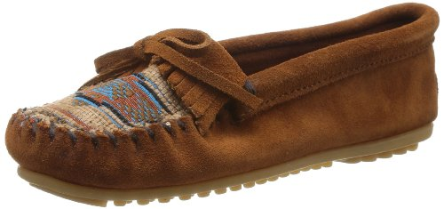 Minnetonka Women's El Paso II Suede Moc Brown
