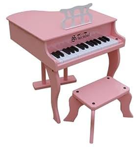 Schoenhut 30 Key Fancy Baby Grand - Pink