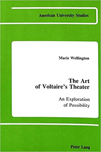 Study Points To Possibility Of >> Amazon Com The Art Of Voltaire S Theater An Exploration Of