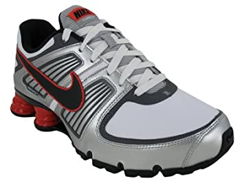 Nike Men s NIKE SHOX TURBO XI SL RUNNING SHOES 9.5 (WHITE BLACK DARK c8f4ccba2