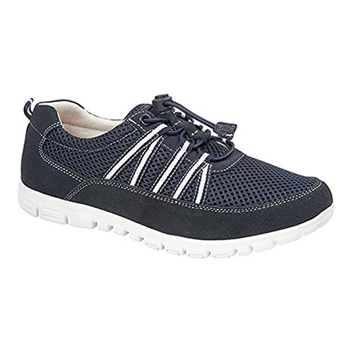 Boulevard Dames / Dames Eee Breedsluitend Sneldak Sneakers Sneakers Blauw