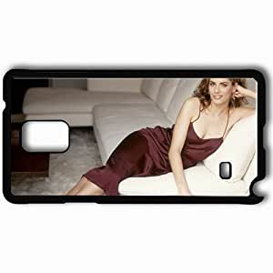 Personalized Samsung Note 4 Cell phone Case/Cover Skin Amanda Peet Black